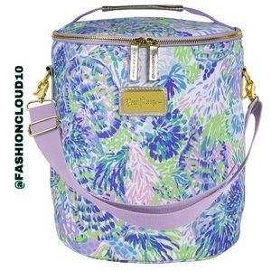 🎀 Lilly Pulitzer beach cooler Shell of a Party 🎀